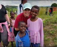 Michelle Sorenson on her mission trip to Tanzania